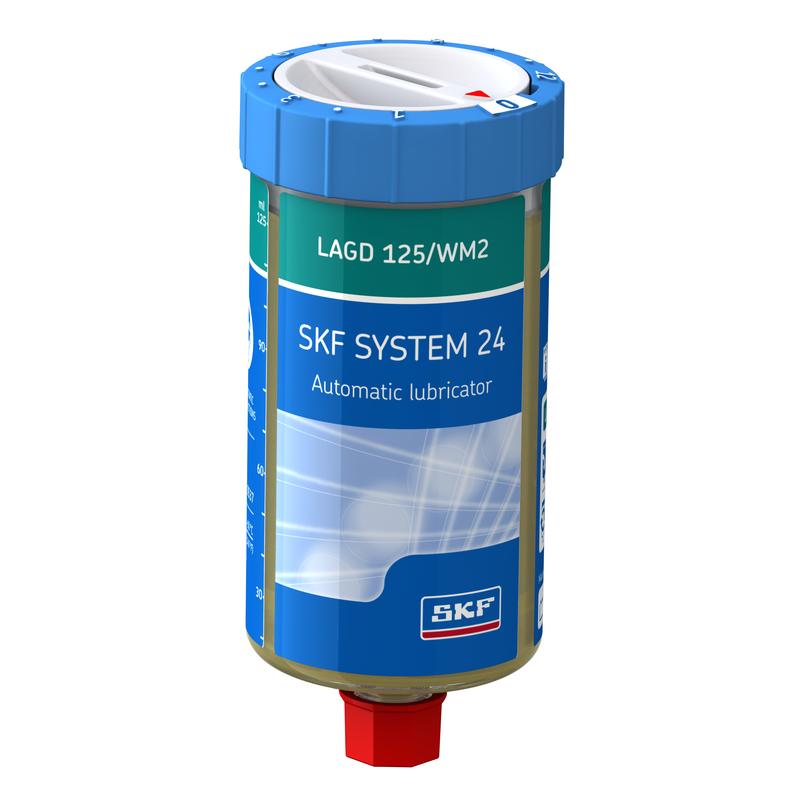 SKF SYSTEM 24 single point lubricator LAGD 125/WM2